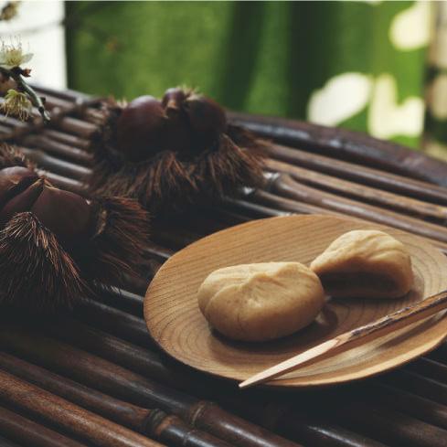 大洲産和栗餡の奥深き栗きんとん「栗華の宴」